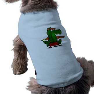 Alligator going to the beach shirt
