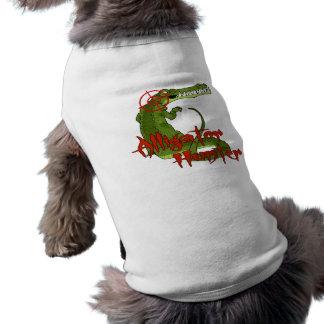 Alligator Hunter Pet Shirt