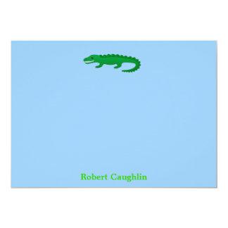 Alligator Invitations/ Notecards