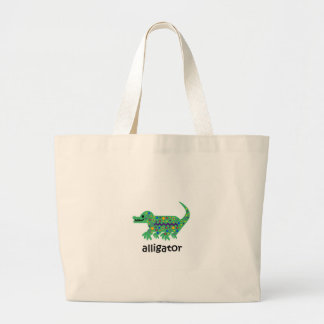 Alligator Large Tote Bag