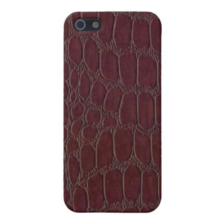 Alligator Leather Print Speck Case iPhone 4 Case For The iPhone 5