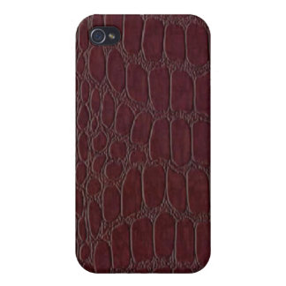 Alligator Leather Print Speck Case iPhone 4 iPhone 4 Cover