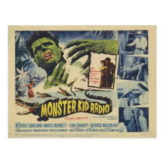 Alligator Monsters from Monster Kid Radio Postcard