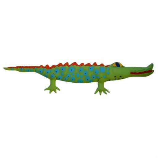 Alligator Pin Photo Sculptures