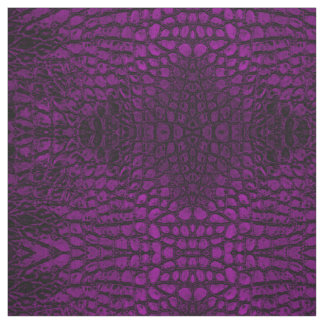 Alligator Pink Faux Leather Fabric