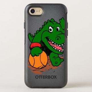 Alligator playing basketball OtterBox symmetry iPhone 8/7 case