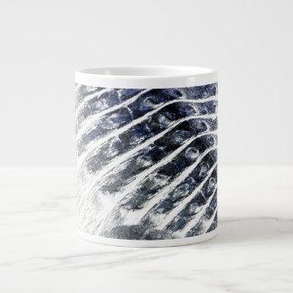 alligator scales neat abstract invert pattern jumbo mug