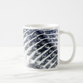 alligator scales neat abstract invert pattern coffee mug