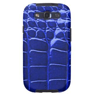 Alligator Skin Blue Samsung Galaxy S Galaxy SIII Cover