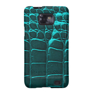 Alligator Skin Green Samsung Galaxy S Samsung Galaxy S2 Covers