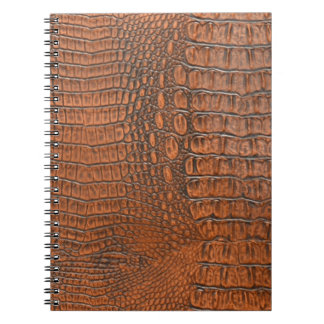 ALLIGATOR SKIN SPIRAL NOTEBOOK