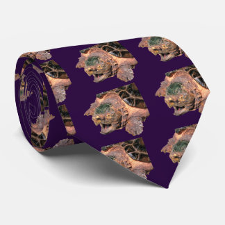 Alligator snapping turtle tie
