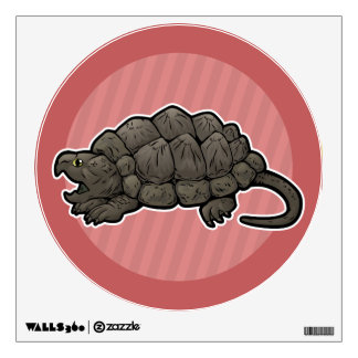 Alligator Snapping Turtle Wall Sticker