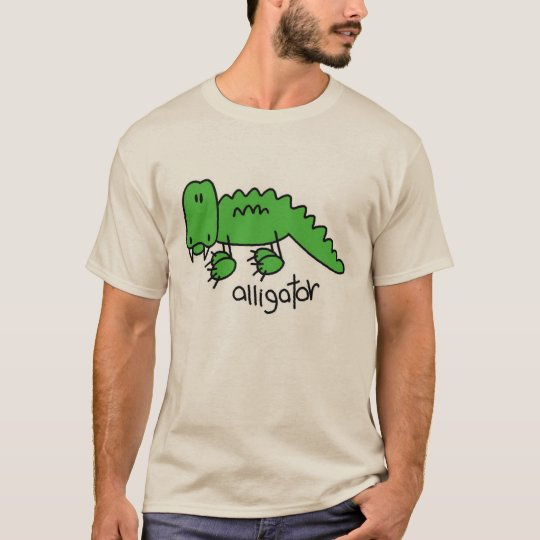 Alligator Stick Figure T-Shirt