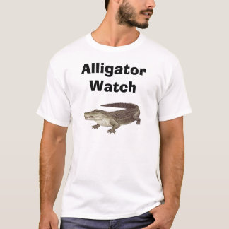 alligatorj, Alligator Watch T-Shirt