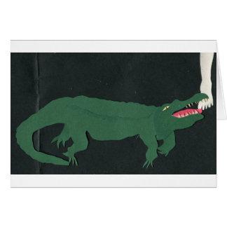 Alligators Under the Bed Card