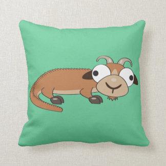 Alligoator Throw Pillow