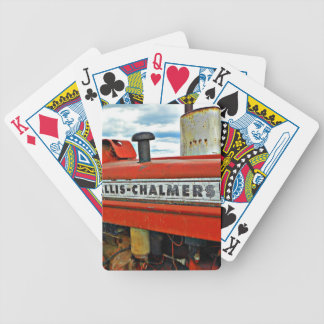 Allis Chalmers tractor Poker Deck
