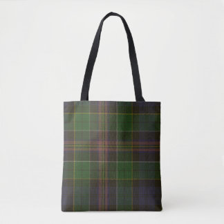 Allison Clan Tartan Tote Bag