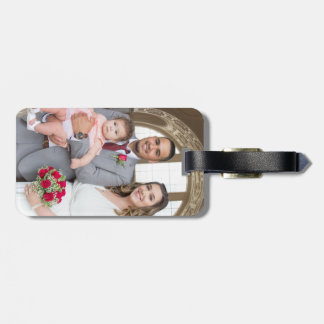 Allison & Edgar's Wedding Luggage Tag