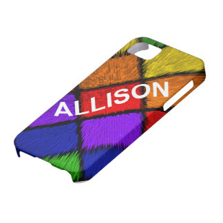 ALLISON ( female names ) iPhone 5 Covers