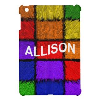 ALLISON ( female names ) Cover For The iPad Mini