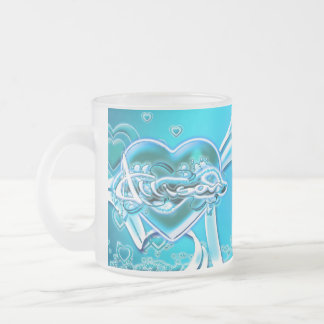 Allison Frosted Glass Coffee Mug