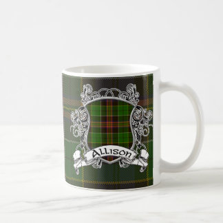Allison Tartan Shield Coffee Mug