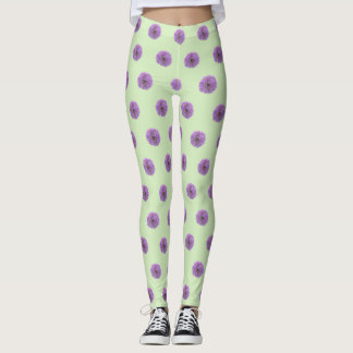 Allium Bulb Pattern Legging