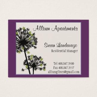 Allium Business Card