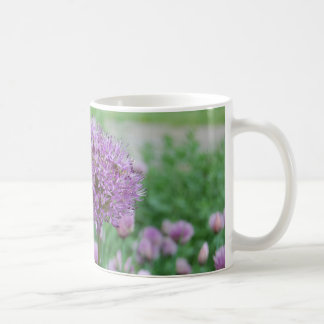 Allium & Chives Classic White Coffee Mug