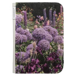 Allium dans le jardin d'iris étuis kindle