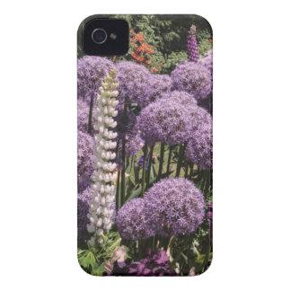 Allium dans le jardin d'iris coques Case-Mate iPhone 4