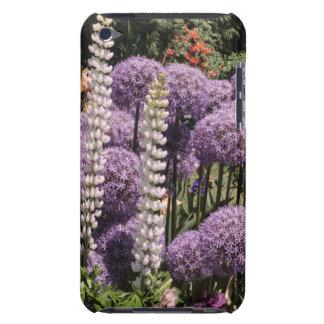 Allium dans le jardin d'iris étui iPod touch