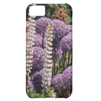 Allium dans le jardin d'iris coque iPhone 5C