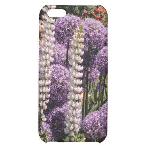 Allium dans le jardin d'iris étui iPhone 5C