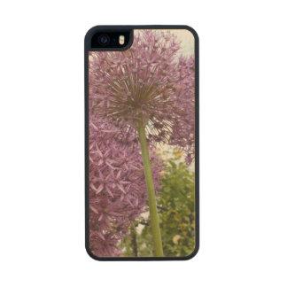 Allium Flower Carved® Maple iPhone 5 Slim Case