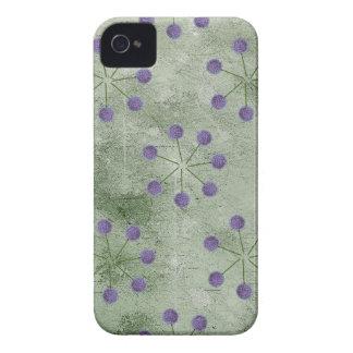 ALLIUM FLOWER PATTERN iPhone 4 CASES