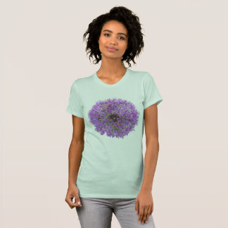 Allium Purple Round Flower App. T-Shirt