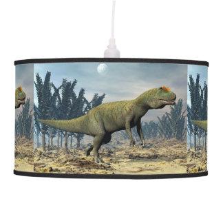 Allosaurus dinosaur - 3D render Pendant Lamp