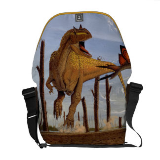 Allosaurus Dinosaur Messenger Bag Gregory Paul
