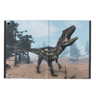Allosaurus dinosaur roaring - 3D render Cover For iPad Air