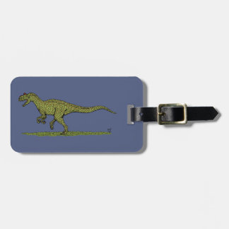 Allosaurus Luggage Tag