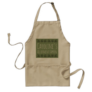 Allotment Apron with your name