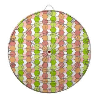 allover graphic dartboard