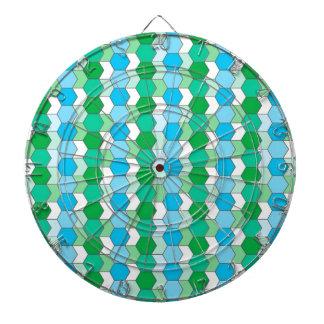 allover graphic dartboards