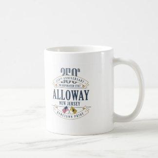 Alloway, New Jersey 250th Anniversary Mug