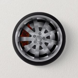 Alloy 2 Inch Round Button