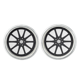 """Alloy Wheel"" design jewelry set Cufflinks"