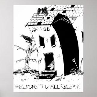 Allsbleak Hotel Poster